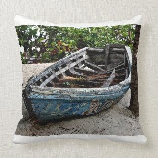 漁船-装飾用クッション-カリブのなキャンバスの芸術 クッション