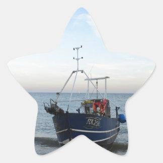 漁船RX256の女の子Kayla 星シール