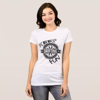 漂うおもしろい- CarCorner --を保って下さい Tシャツ