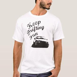漂うおもしろいBMW E39を保って下さい Tシャツ