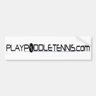 演劇のかいテニス バンパーステッカー