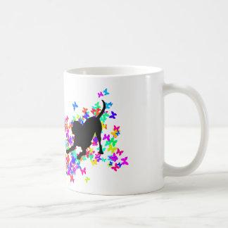 演劇のグレートデーン コーヒーマグカップ