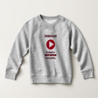 演劇のセーターのワイシャツを押して下さい スウェットシャツ