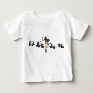 演劇のパンダ ベビーTシャツ