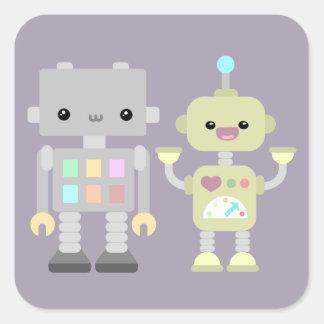 演劇のロボット スクエアシール