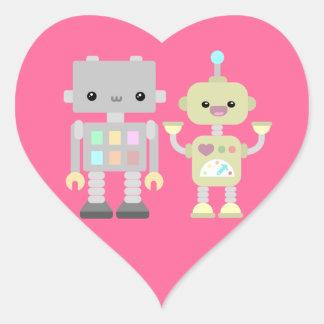 演劇のロボット ハートシール