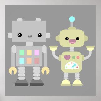 演劇のロボット ポスター