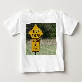 演劇の停止子供 ベビーTシャツ