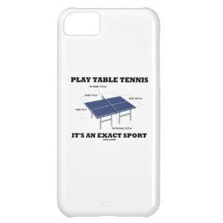 演劇の卓球それはです厳密なスポーツ(ユーモア) iPhone5Cケース