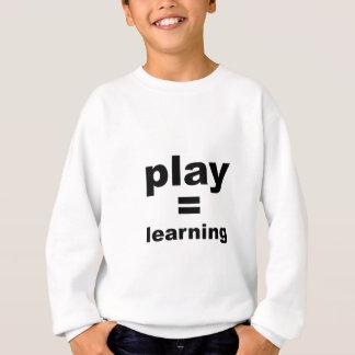 演劇の同輩の学ぶこと スウェットシャツ