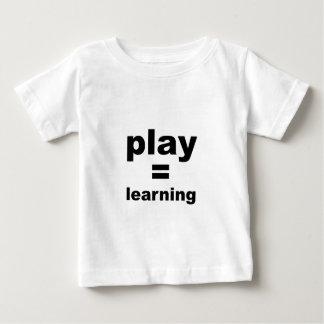 演劇の同輩の学ぶこと ベビーTシャツ