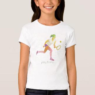 演劇の堅いOrigamiのテニス Tシャツ