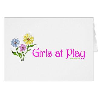 演劇の女の子 カード