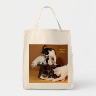 演劇の子ネコ トートバッグ