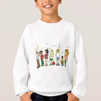 演劇の子供 スウェットシャツ