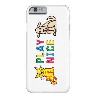 演劇の素晴らしいiPhoneカバー Barely There iPhone 6 ケース