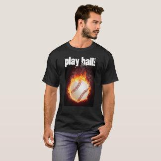 演劇の野球のティー Tシャツ