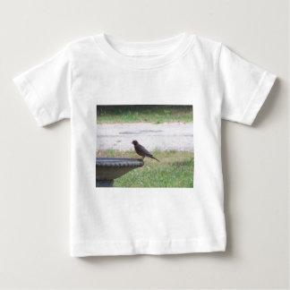 演劇の鳥 ベビーTシャツ