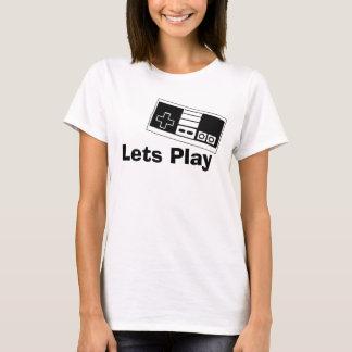 演劇を許可します Tシャツ