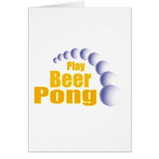 演劇ビールPong カード