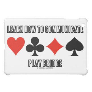 演劇橋を伝える方法を学んで下さい iPad MINIケース