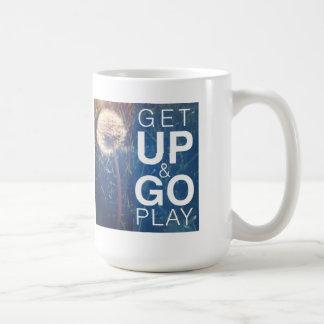演劇起きて下さい及び行って下さい コーヒーマグカップ