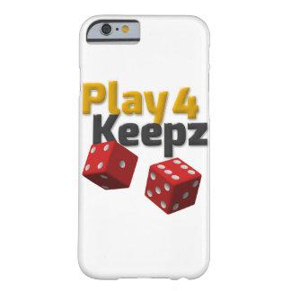 演劇4のKeepzのiPhoneの場合 Barely There iPhone 6 ケース