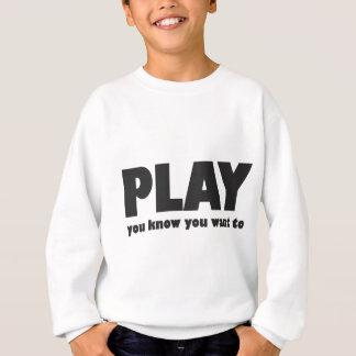 演劇-にほしいことを知っています スウェットシャツ