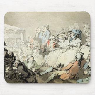 演劇、c.1785 (ペンとインクaを見ている聴衆 マウスパッド