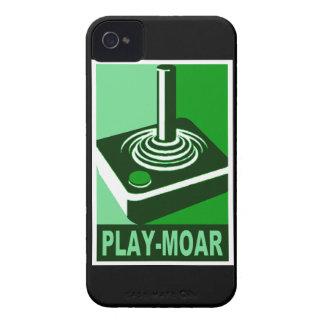 演劇Moarのクラシックのロゴ Case-Mate iPhone 4 ケース