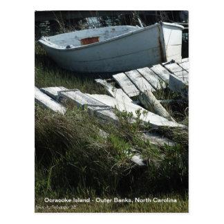漕艇のOcracokeの島 ポストカード