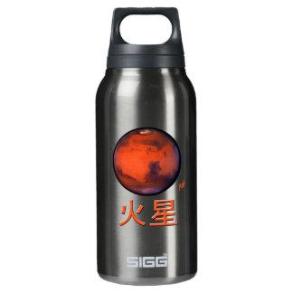 漢字の火星 断熱ウォーターボトル
