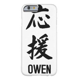 """漢字の""""オーウェン"""" BARELY THERE iPhone 6 ケース"""