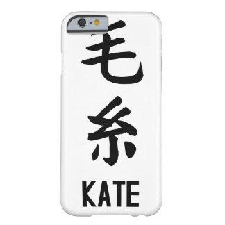 """漢字の""""KATE"""" BARELY THERE iPhone 6 ケース"""