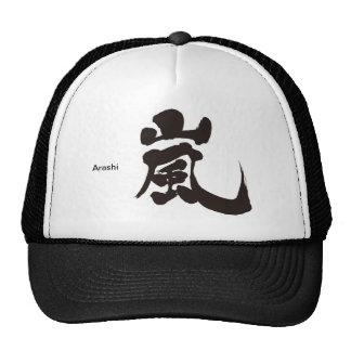 [漢字] Arashi メッシュキャップ