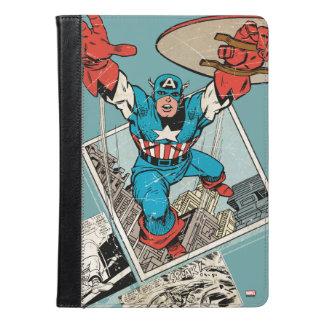 漫画から跳躍するアメリカ大尉 iPad AIRケース