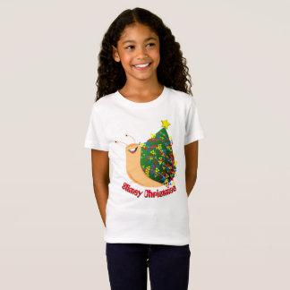 漫画のかたつむり- Slimeyのクリスマス Tシャツ