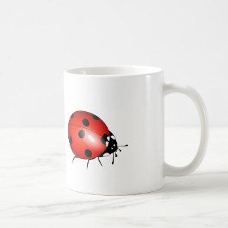 漫画のてんとう虫-クラシックなコーヒー・マグ コーヒーマグカップ