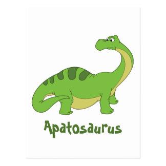 漫画のアパトサウルス ポストカード
