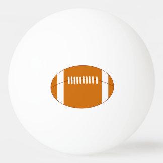 漫画のアメリカン・フットボールの球、 卓球ボール