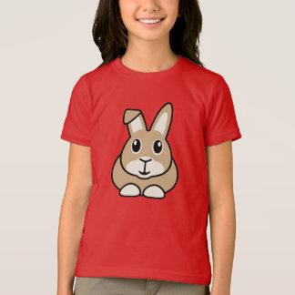 漫画のウサギの子供のTシャツ Tシャツ