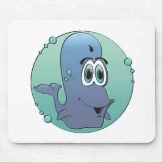 漫画のクジラ マウスパッド