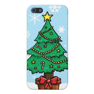 漫画のクリスマスツリー iPhone SE/5/5sケース