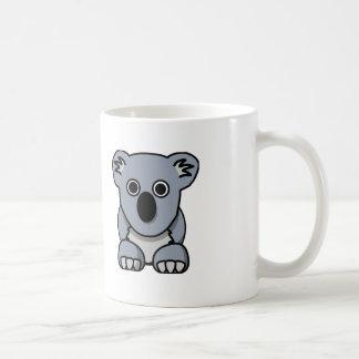 漫画のコアラ-白いコーヒー・マグ コーヒーマグカップ