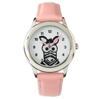 漫画のシマウマ 腕時計