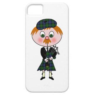 漫画のスコットランド人Pagpiper iPhone SE/5/5s ケース