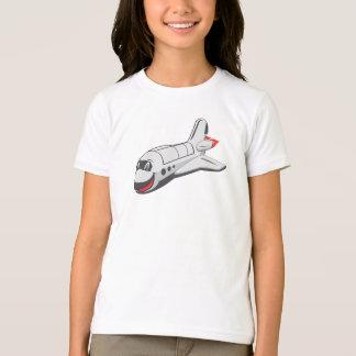 漫画のスペースシャトル Tシャツ