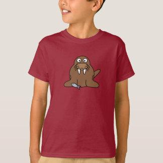 漫画のセイウチ-子供のTシャツ Tシャツ