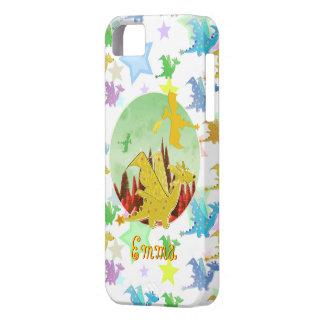 漫画のドラゴンパターンカスタマイズ可能な一流のエマ iPhone SE/5/5s ケース