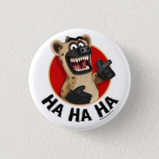 漫画のハイエナ動物ボタン 3.2CM 丸型バッジ